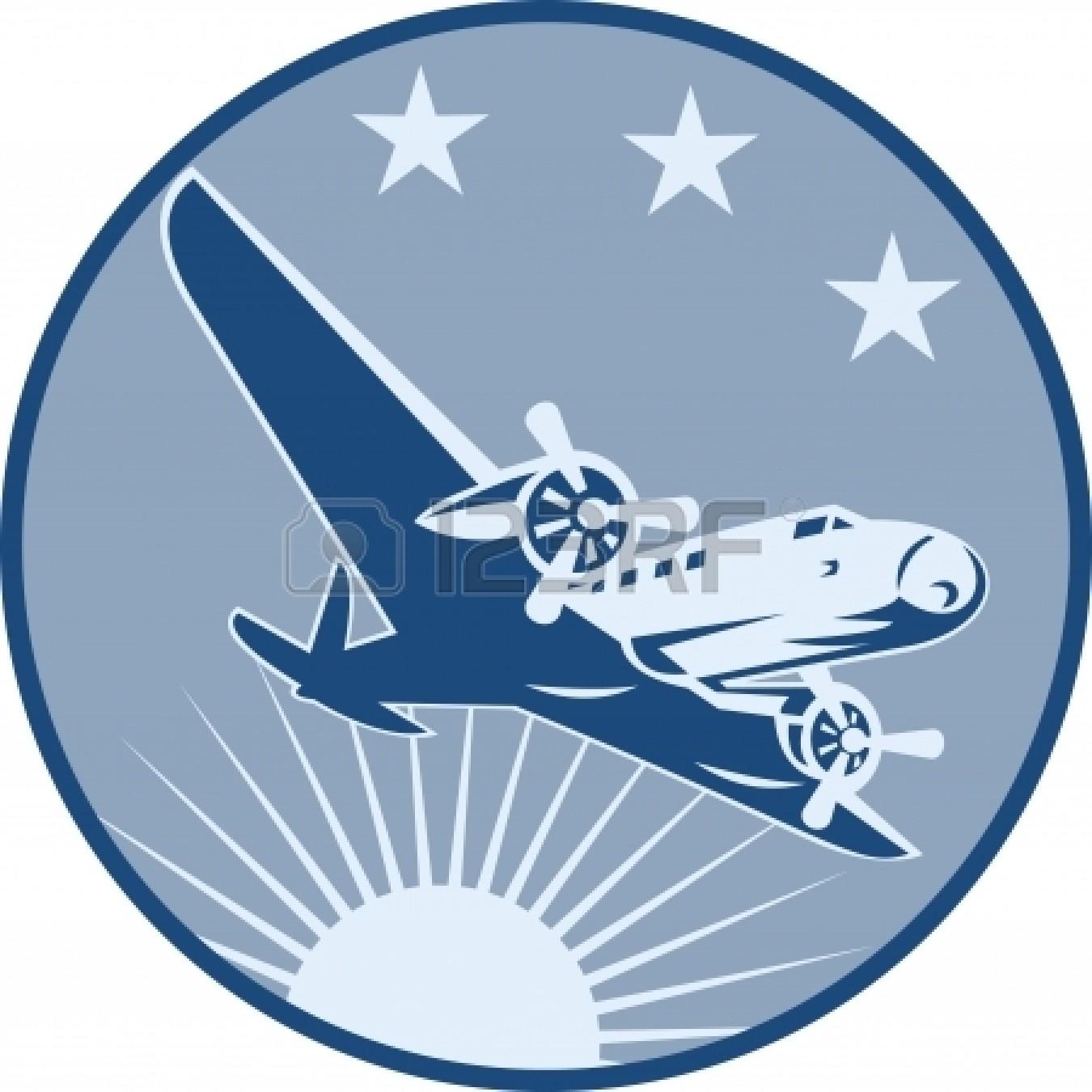Biplane clipart illustration. Vintage plane panda free