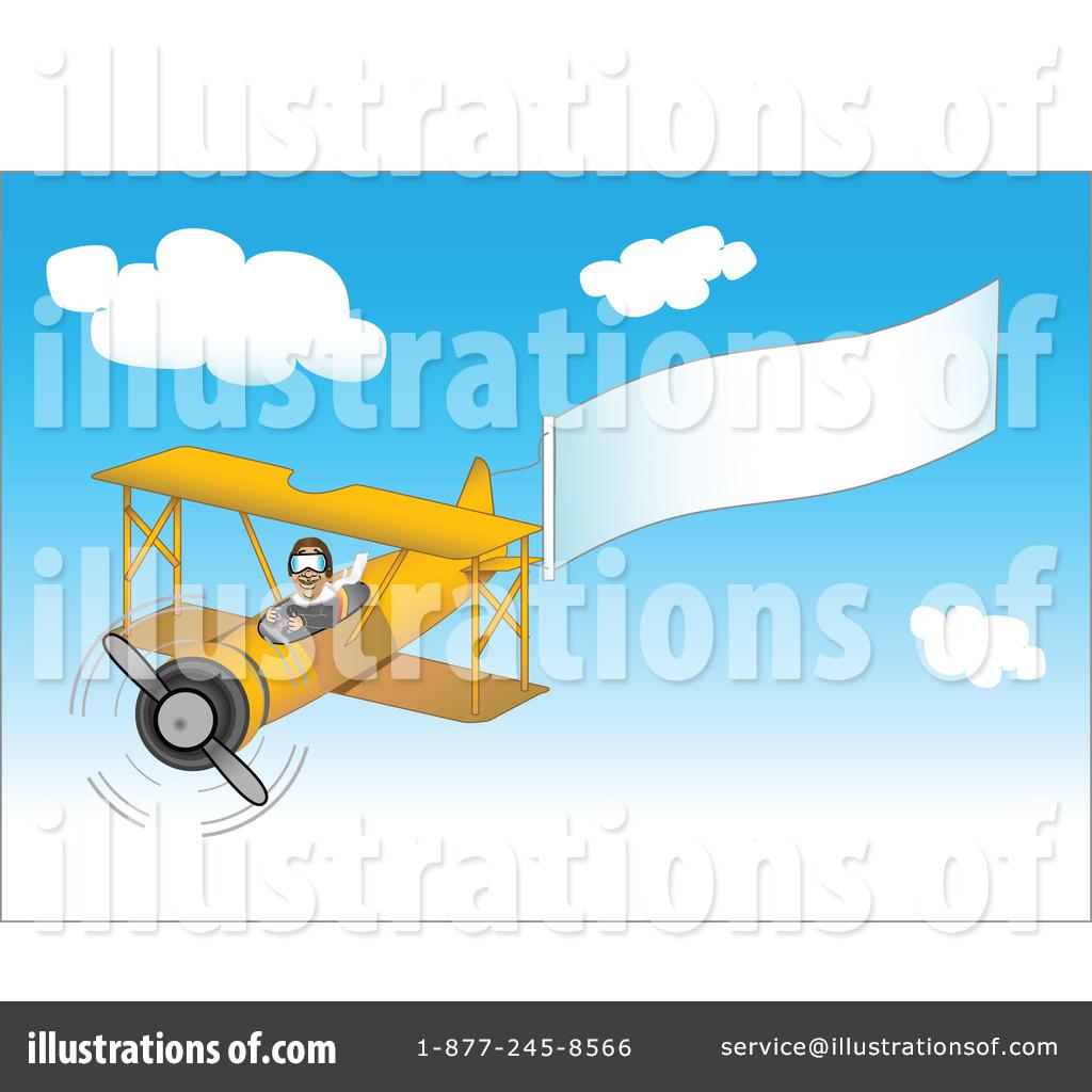 By tdoes royaltyfree rf. Biplane clipart illustration
