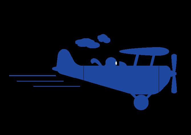 Airplane clip art portable. Biplane clipart illustration