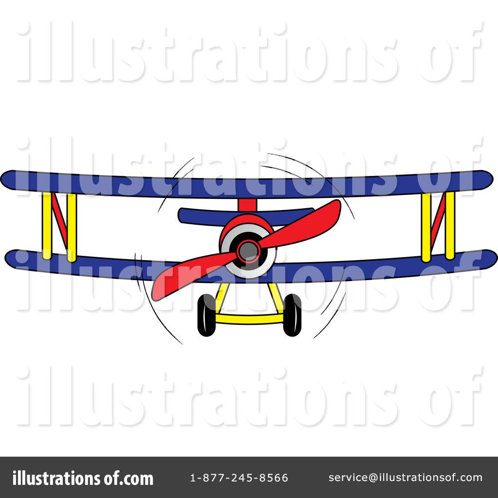 Biplane clipart illustration. By pams royaltyfree rf