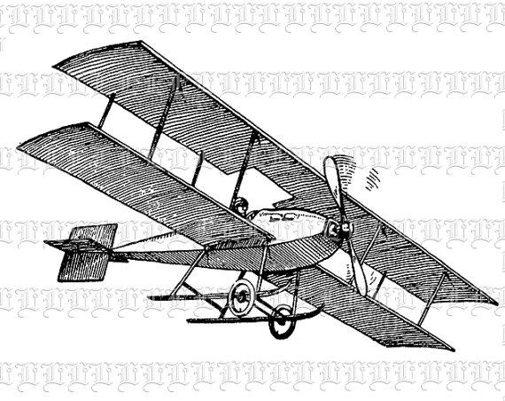 Biplane clipart vintage, Biplane vintage Transparent FREE for download on  WebStockReview 2020