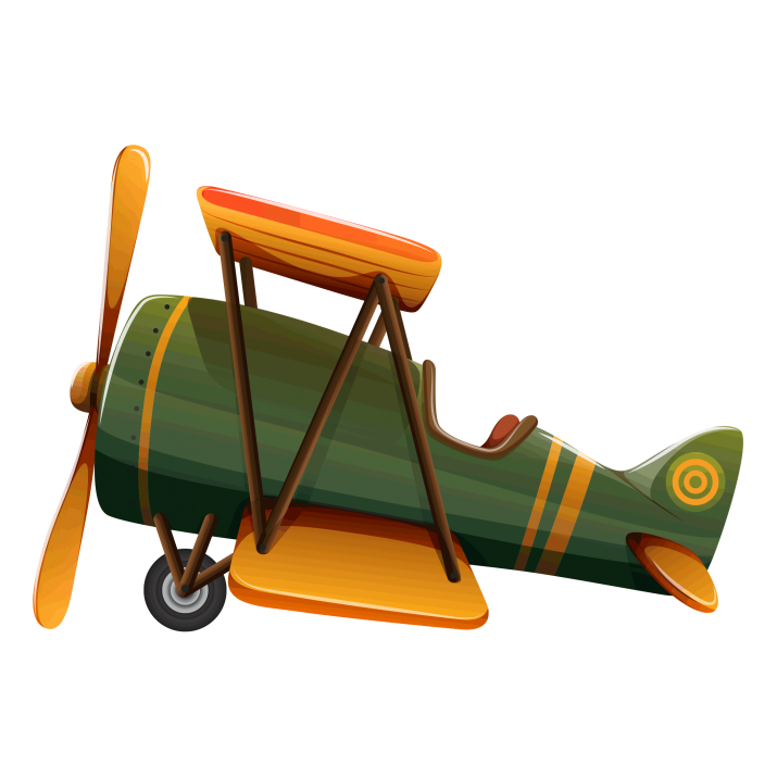 Biplane clipart old airplane. Plane png image free