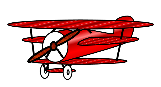 Biplane clipart old fashioned. Airplane cliparts zone
