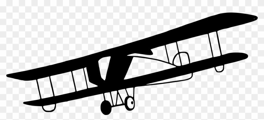 Download free png vintage. Biplane clipart outline