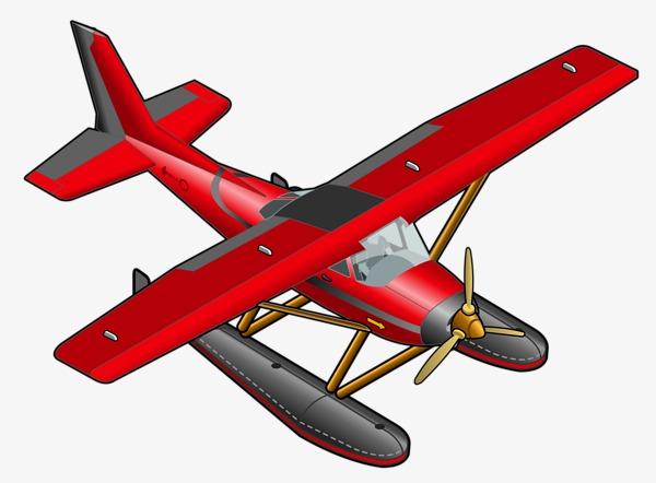 Cartoon model material aircraft. Biplane clipart rc airplane