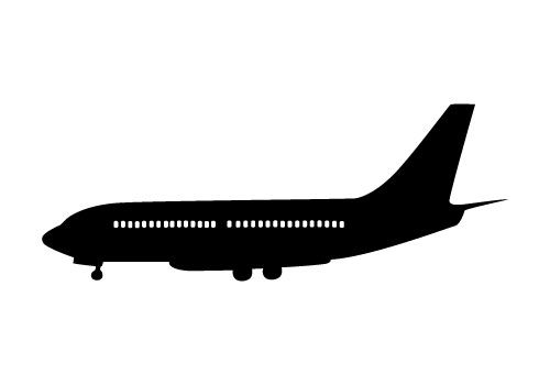 Silhouette at getdrawings com. Biplane clipart side view