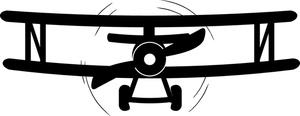 Biplane clipart silhouette. At getdrawings com free