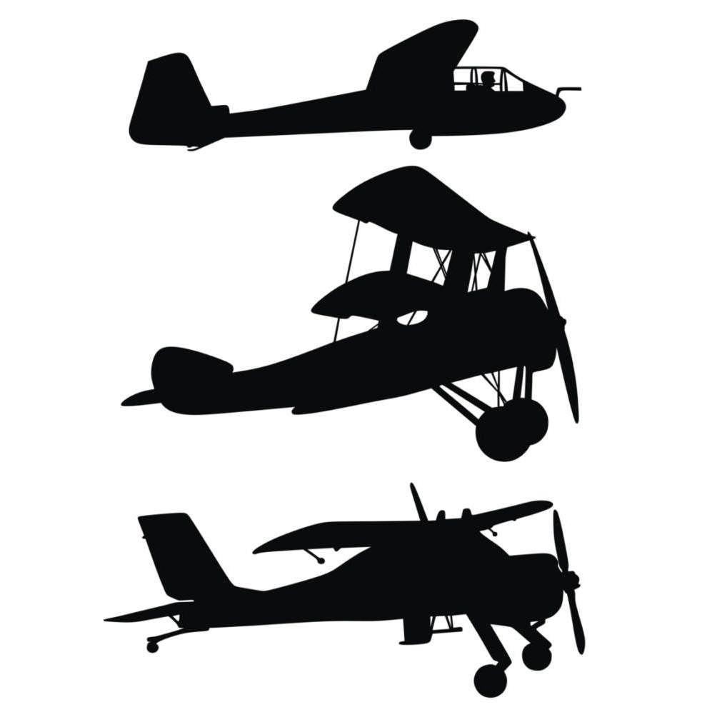 Biplane clipart silhouette. Air planes i want