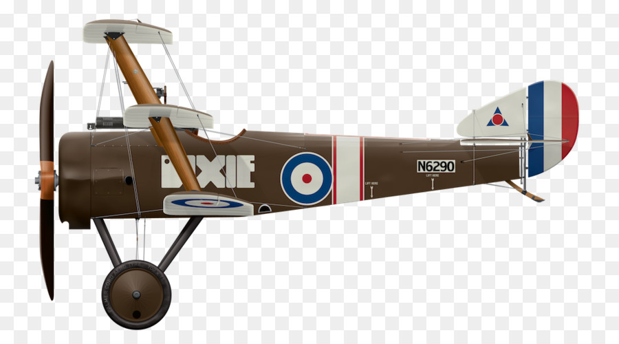 Biplane clipart sopwith camel. Triplane airplane fixed wing