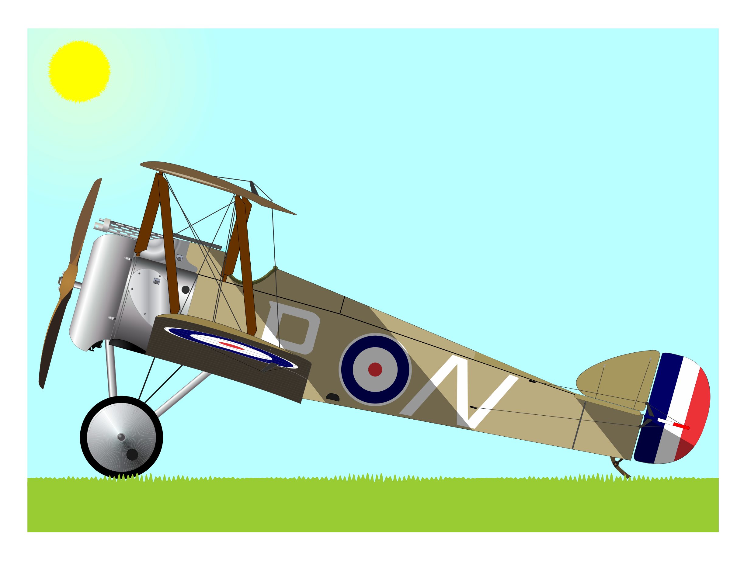 Biplane clipart sopwith camel. Icons png free and