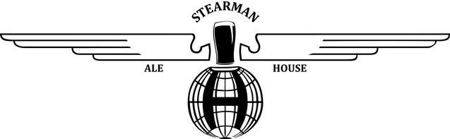 Welcome to ale house. Biplane clipart stearman