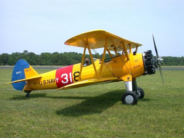 Biplane clipart stearman.  best biplanes images