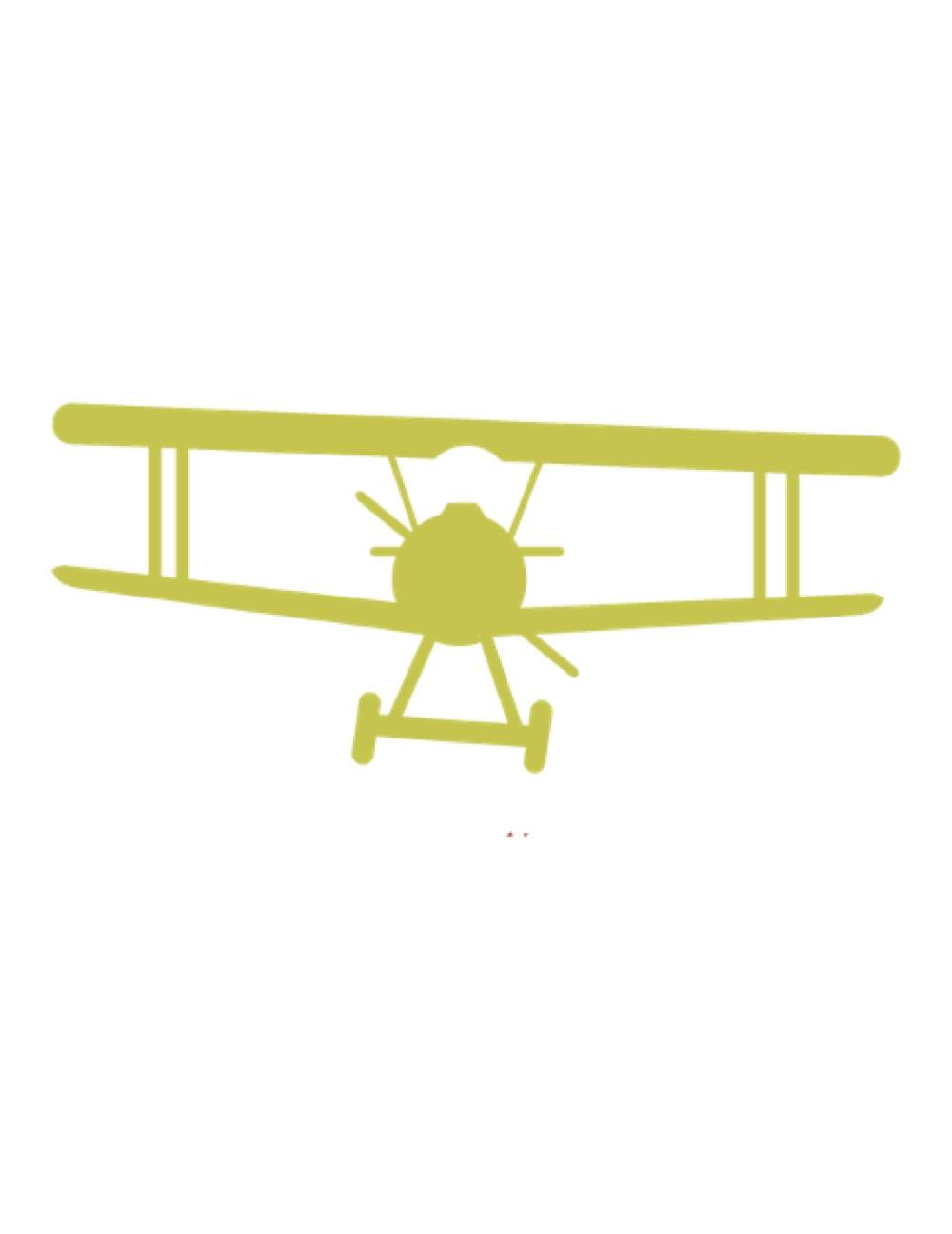 Free airplane download clip. Biplane clipart stencil