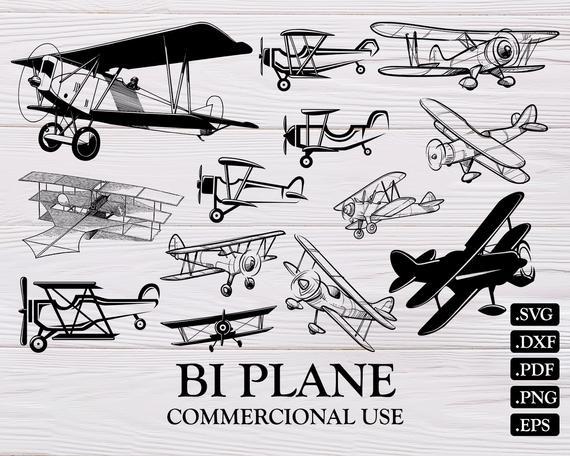 Biplane clipart svg. Plane vintage retro toy