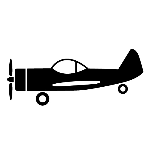 Free small plane cliparts. Biplane clipart symbol