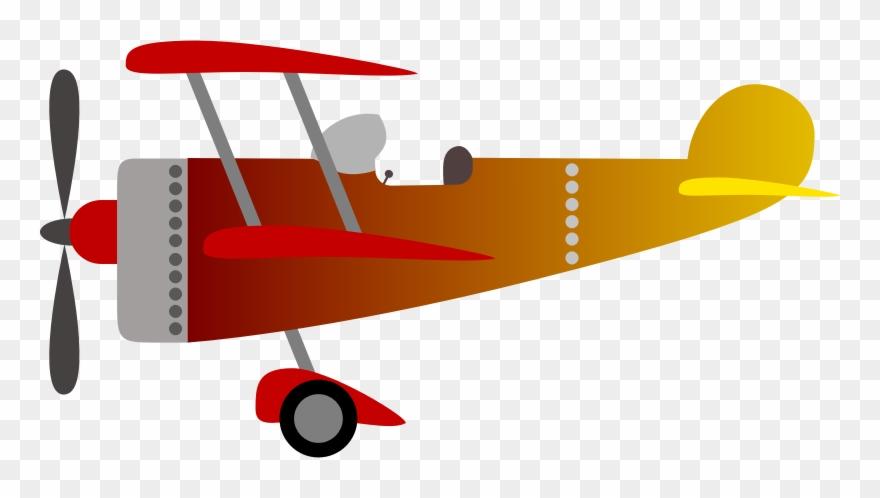 Microsoft clip art party. Biplane clipart vintage