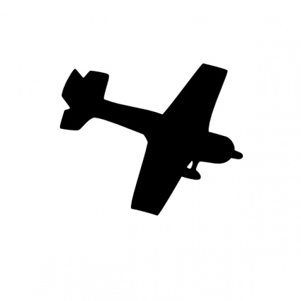 Biplane clipart world war. Silhouette at getdrawings com