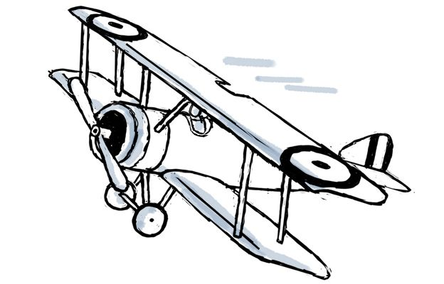 Biplane clipart world war. Pin by borja lm