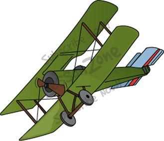 Silhouette clip art at. Biplane clipart world war