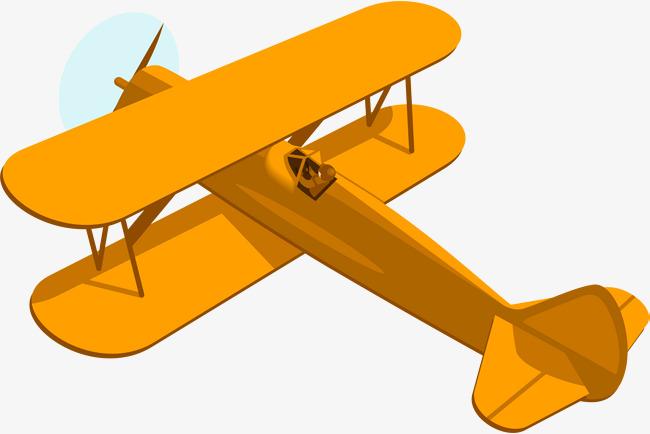 Biplane clipart yellow. Cartoon plane aircraft png