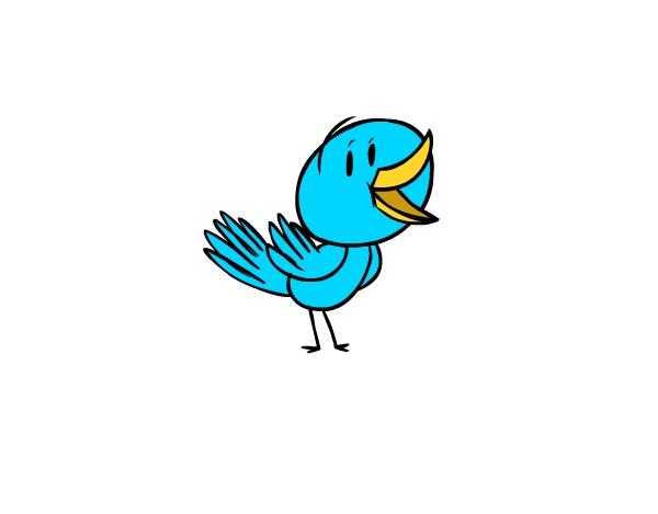Animation for beginners how. Bird clipart animated
