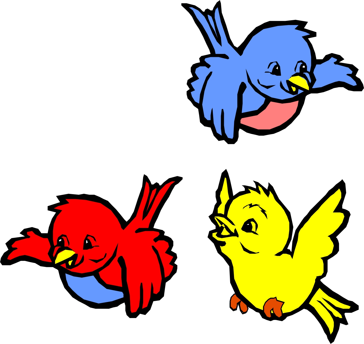 Flying clipart animated. Free bird cliparts download