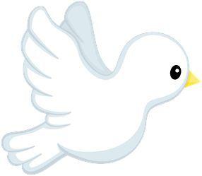 Bird clipart baptism. Pin by maria fernanda