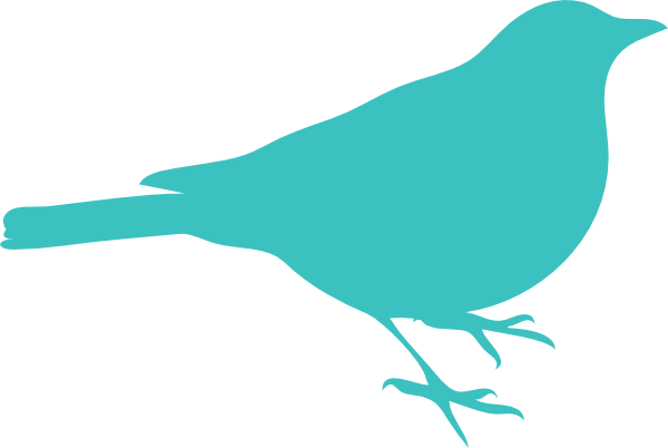 Birds clipart simple. Bird silhouette at getdrawings