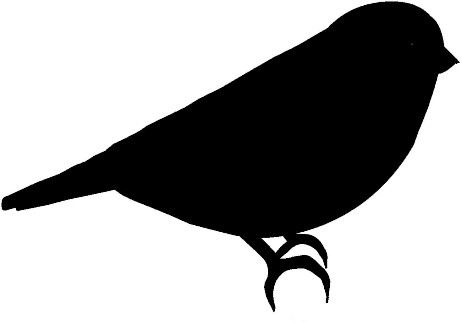 Bird silhouette images at. Birds clipart basic