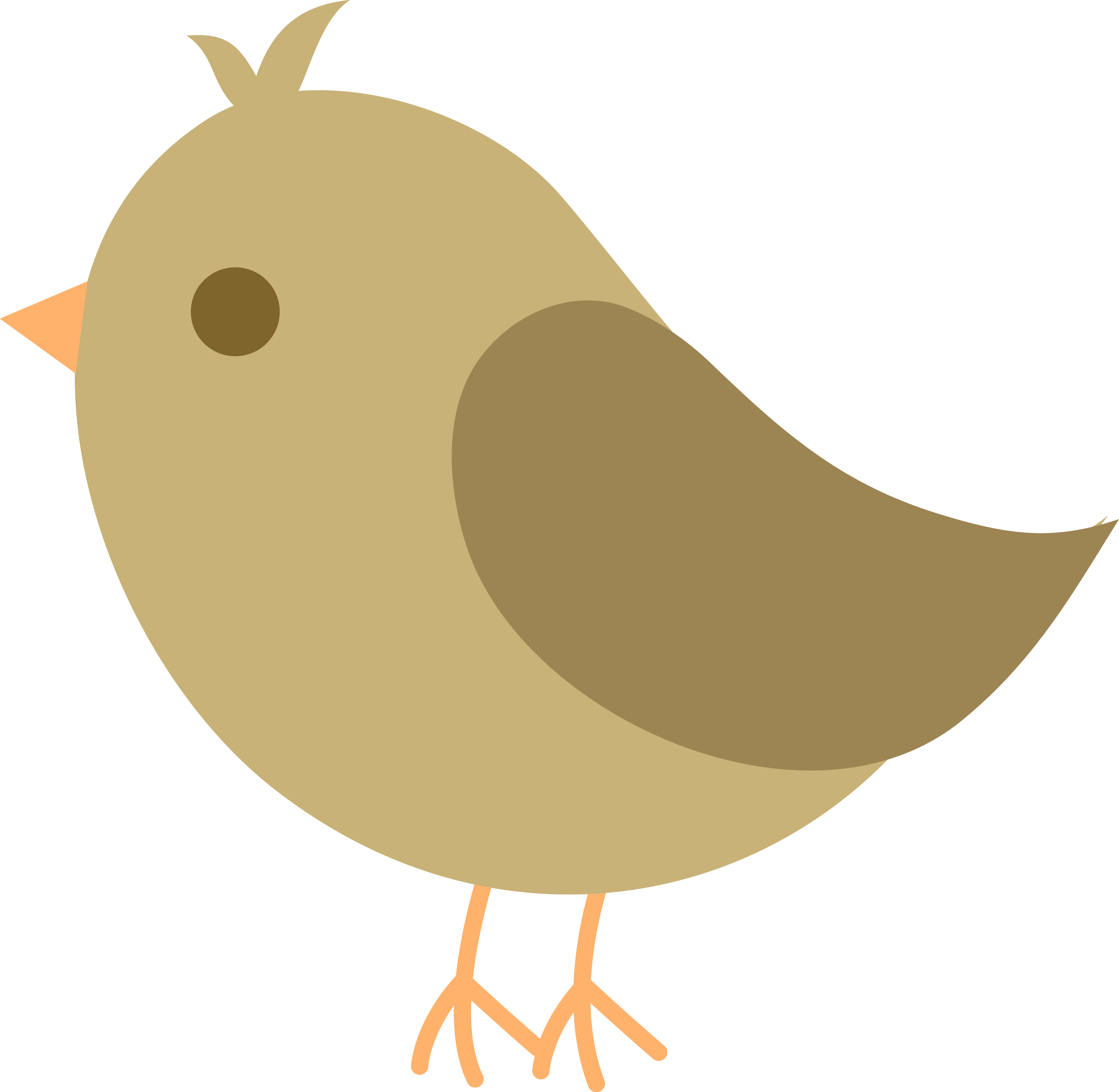 Nest clipart yellow bird. Free
