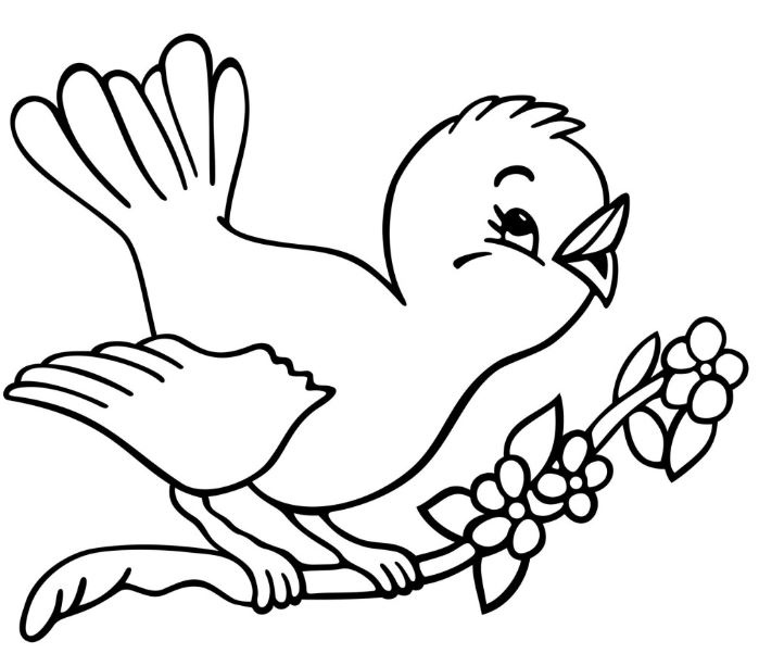 Cute clipartuse. Bird clipart black and white