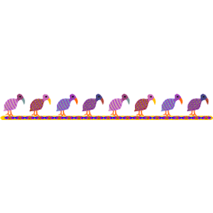 Birds border cliparts of. Bird clipart boarder
