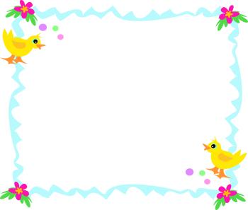 Border clip art net. Bird clipart borders