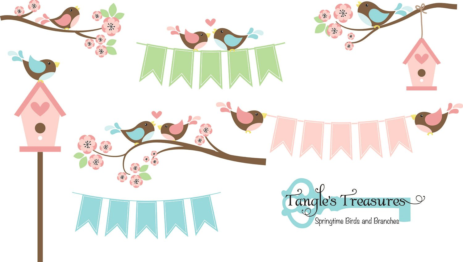 Bird clipart branch. Birds and branches graphics