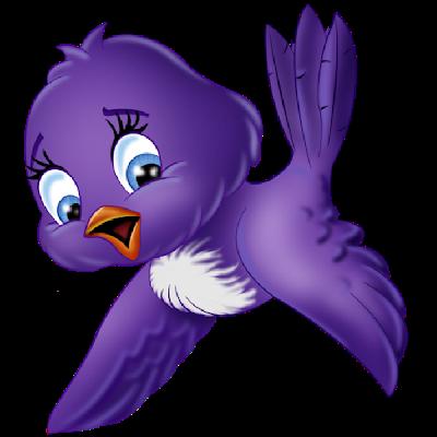 Bird clipart cartoon. Blue images art