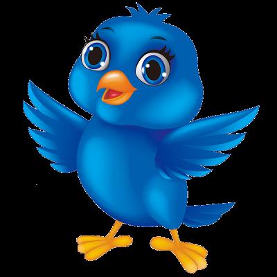 Blue birds clip art. Bird clipart cartoon