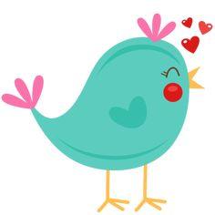 Bird clipart cute. Buscar con google p