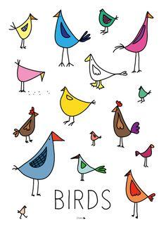 I ve been so. Bird clipart doodle