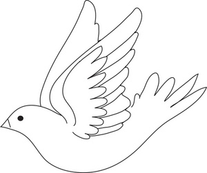 Free image royalty clip. Birds clipart dove