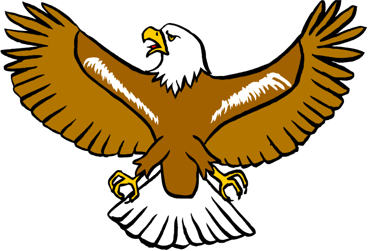 Free eagle. Wing clipart hawk