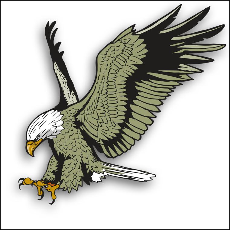 Free clip art bird. Eagles clipart eagle mexico