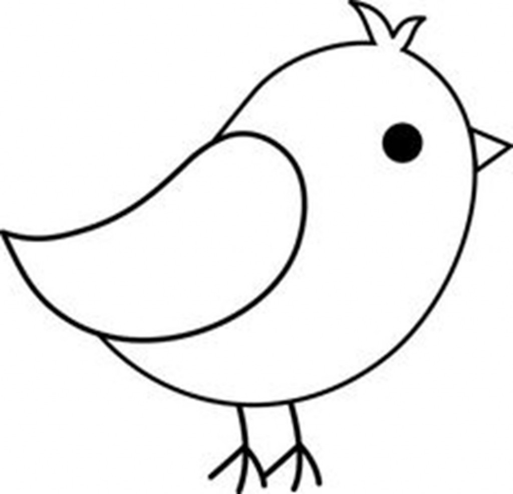Bird clipart easy. Simple flying drawing free