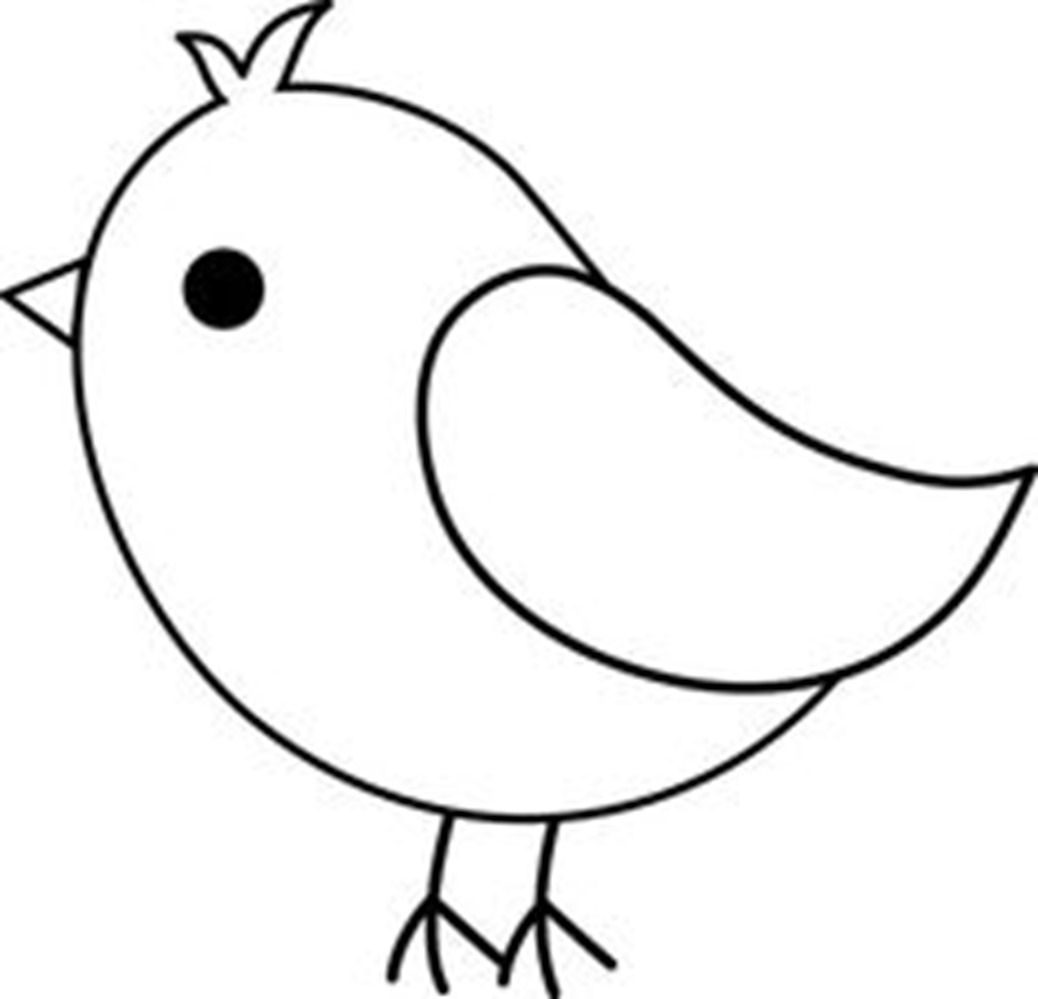 Drawing simple fly draw. Bird clipart easy