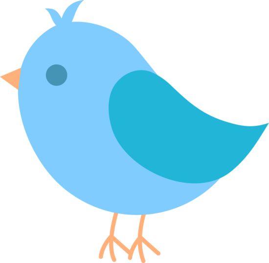 Bird clipart easy. Cute