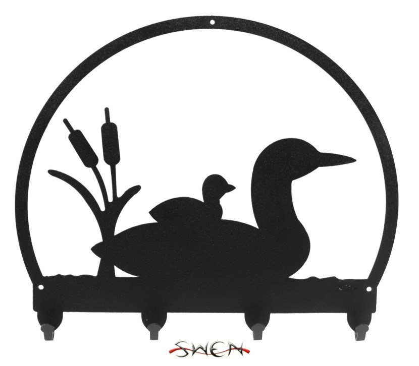 Silhouette photos pattern drawing. Bird clipart loon