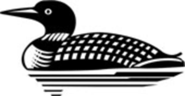 Bird clipart loon. Clip art md free