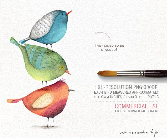 Watercolor birds png whimsical. Bird clipart magical