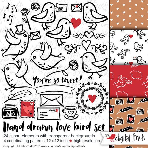 Snail love clip art. Birds clipart mail