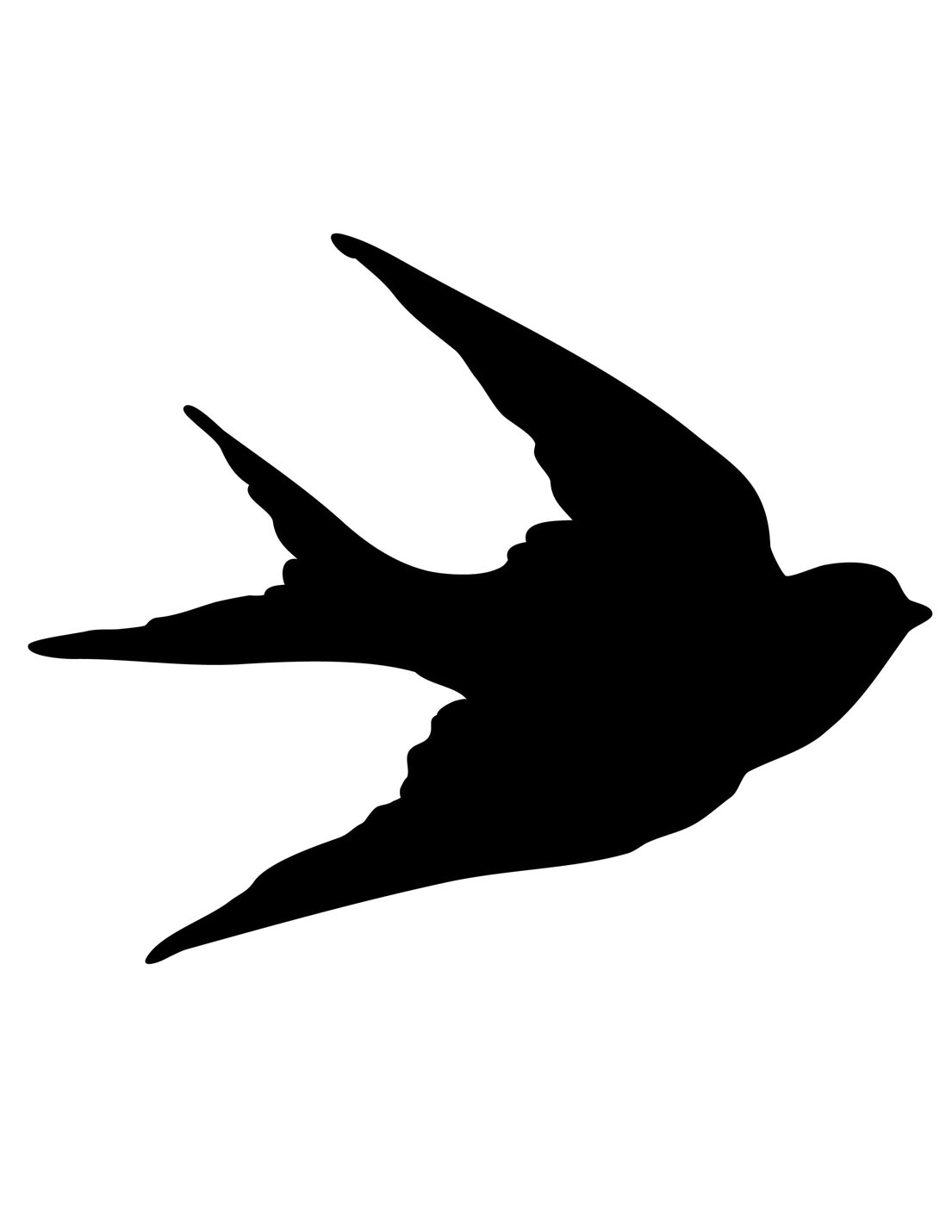 Bird clipart mockingjay. Silhouette at getdrawings com