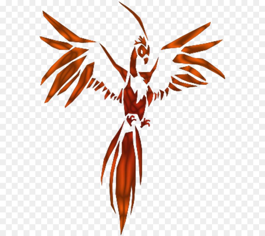 Bird clipart phoenix. Clip art cartoon tattoo